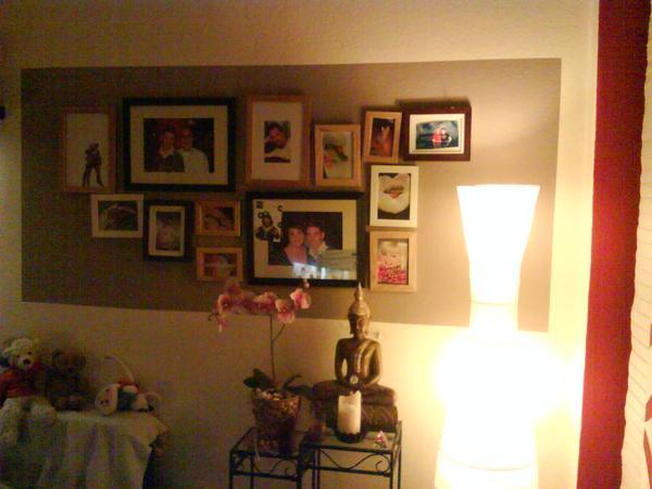 Wohnzimmer Wand Violett Streichen Pictures