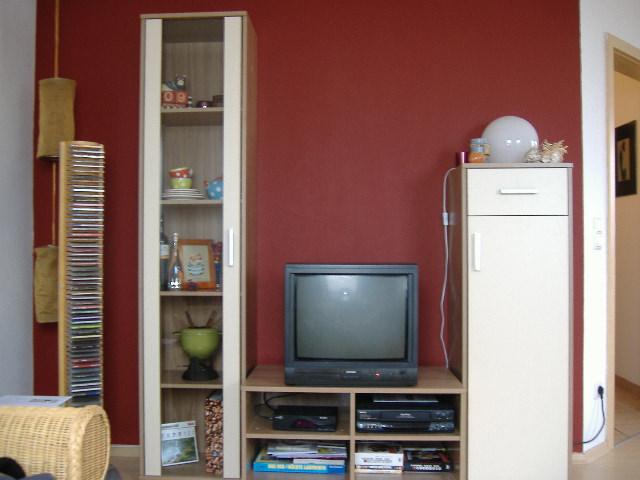 wohnzimmer rote wand:Wohnzimmer – die richtige Wandfarbe finden